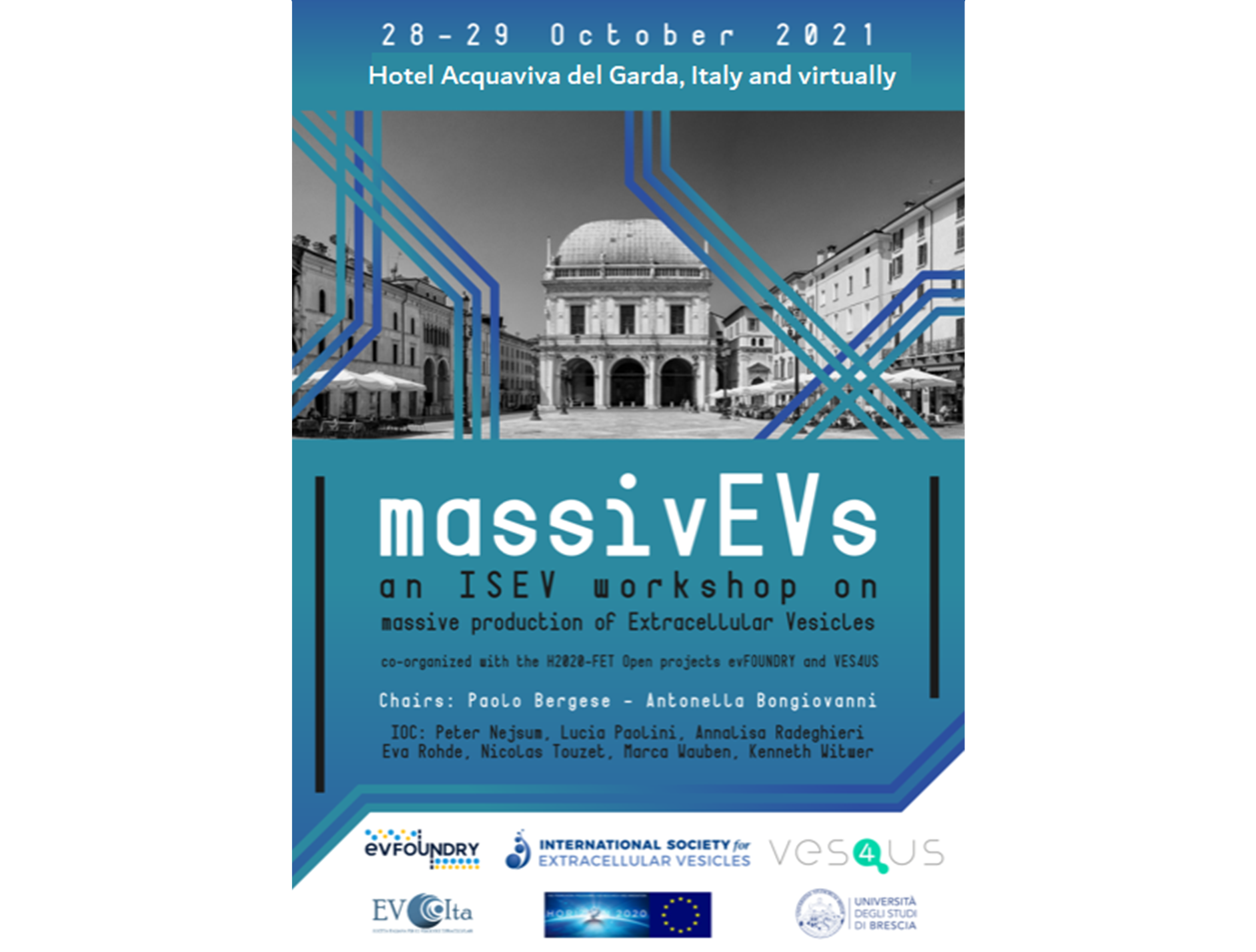 ISEV Workshop: massivEVs by umbrella projects